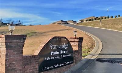 Community Signage, Stoneridge Patio Homes, 0