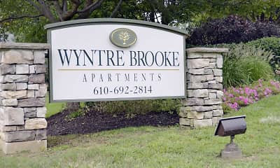 Community Signage, Wyntre Brooke Apartments, 2