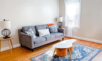 Living Room, Highland at Haymount, 1