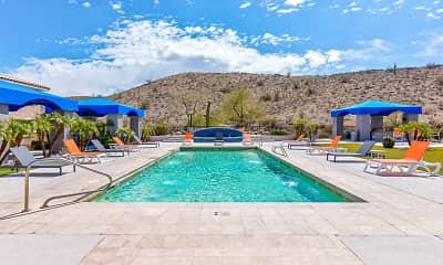 Pool, Mountainside Apartments, 1