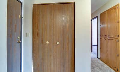 Bedroom, Washington Heights Apartments, 2