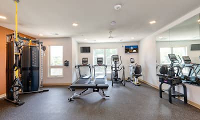 Fitness Weight Room, The Philben, 2