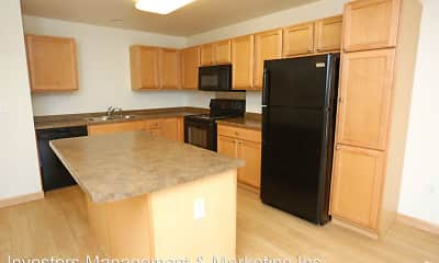 Kitchen, Badland Apartments, 0
