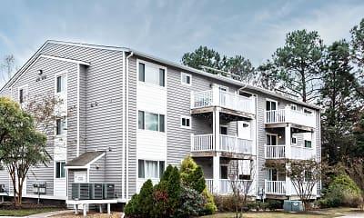 Building, Ocean Trace Apartments, 1