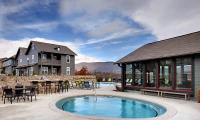 Pool, The Cottages of Boone - Per Bed Lease, 1