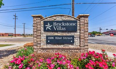 Community Signage, Brickstone Villas Apartments, 2