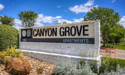 Community Signage, Canyon Grove, 0