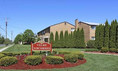 Community Signage, Village Townhomes, 2