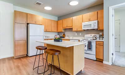 Kitchen, Legends at Berry 62+ Apartments, 1