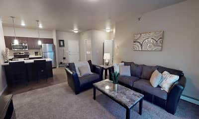 Living Room, StoneMill Pond Apartments, 0