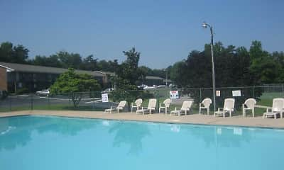 Pool, Alder Ridge Apartments, 1