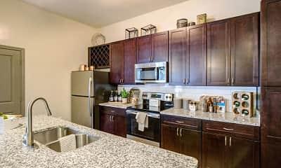 Kitchen, Brookson Resident Flats, 0