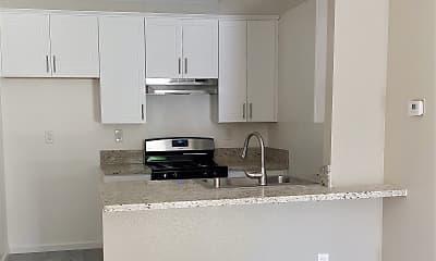 Kitchen, Sunrise Apartments, 2