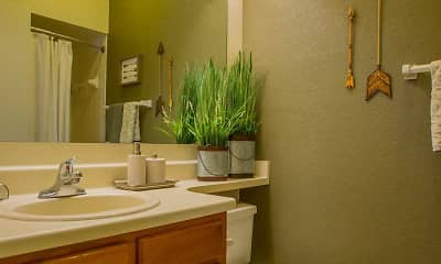 Bathroom, Sheridan Pond Apartments And Guest Suites, 2