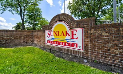 Community Signage, Sunlake Apartment Homes, 2