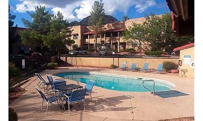 Pool, Shadowbrook Apartments, 1