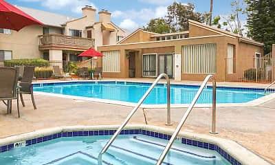 Pool, Oak Hill Apartments, 0