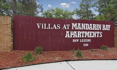 Community Signage, Villas At Mandarin Bay Apartments, 2