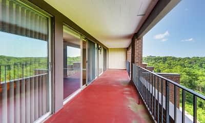 Patio / Deck, LaVale Apartments, 2