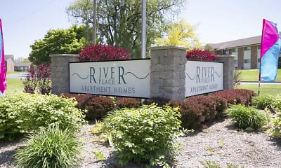 Community Signage, River Place Apartment Homes, 2