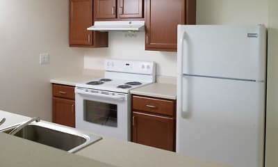 Kitchen, River Pointe at Drum Hill, 1
