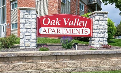 Community Signage, Oak Valley Apartments, 2