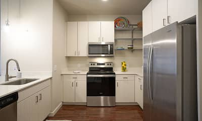 Kitchen, Capitol Flats, 0