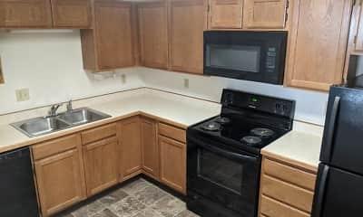 Kitchen, College Park Apartments, 0
