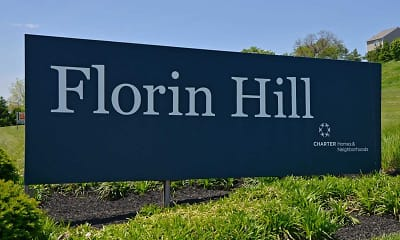 Community Signage, Florin Hill Apartment Homes, 2