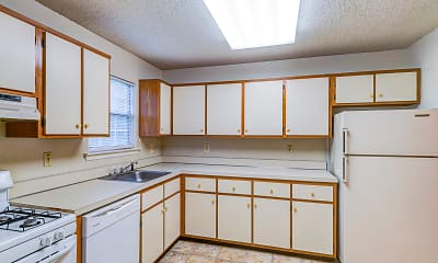 Kitchen, Briar Park Apartments, 1