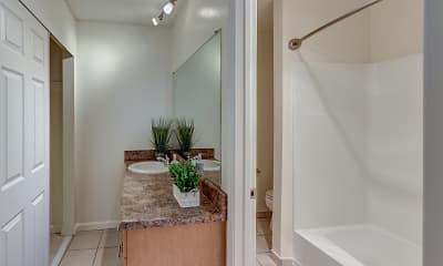 Bathroom, Blue Hills, 2