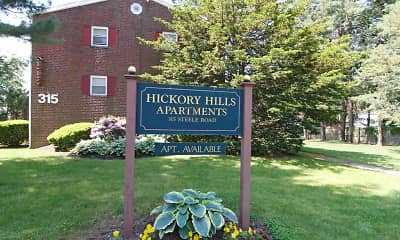 Community Signage, Hickory Hills Apartments, 2