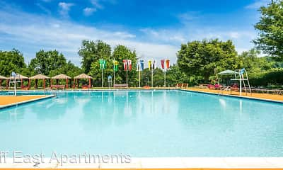 Pool, Briarcliff Apartments, 2
