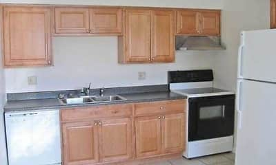 Kitchen, Barre Run Apartments, 1