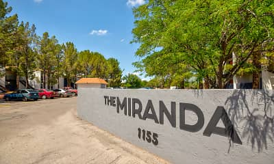 Community Signage, The Miranda, 2