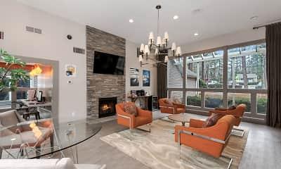Living Room, Rosemont Brook Hollow, 1