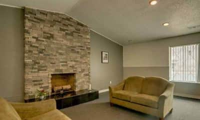 Living Room, Gale Gardens Apartments, 2