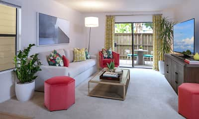 Living Room, Woodbridge Willows, 1