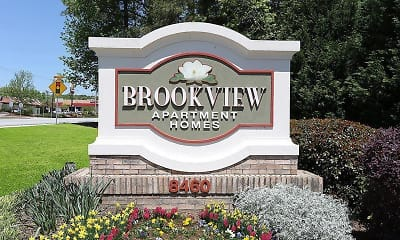 Community Signage, Brookview Apartment Homes, 0
