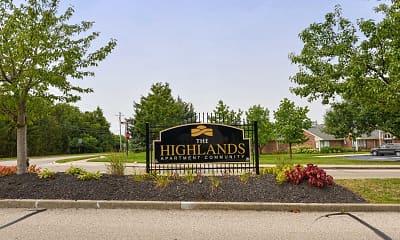 Community Signage, The Highlands, 2
