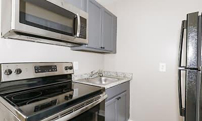 Kitchen, The VUE at Greensboro, 2