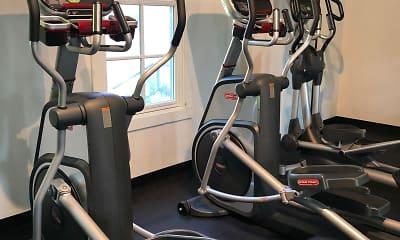 Fitness Weight Room, Wescoat Village At Moffett Field, 2