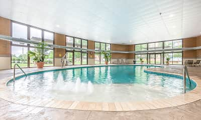 Pool, Pine Ridge Apartments, 1