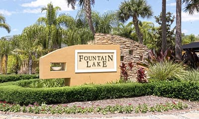 Community Signage, Fountain Lake Apartments, 2