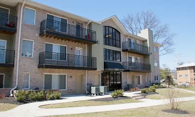 Building, Laurel Pines, 2