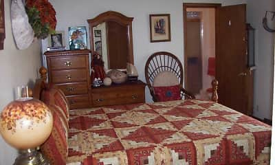 Bedroom, Edgewood Arms Apartments, 2
