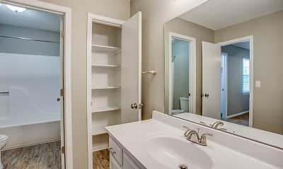 Bathroom, Brookwood Village Townhomes, 2