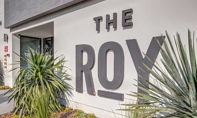 Community Signage, The Roy, 2