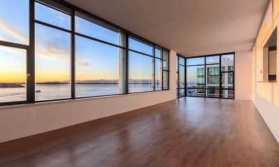 Living Room, Harbor Steps, 1