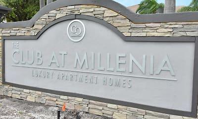 Community Signage, The Club at Millenia, 2